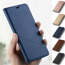 For iPhone 5S 6S 7 8 Plus XS Max Case Slim Leather Flip Card Wallet Stand Cover