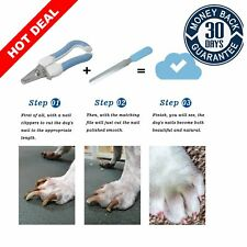 Cat Dog Professional Nail Clippers Stainless Steel Claw Trimmer Pet Grooming Toe
