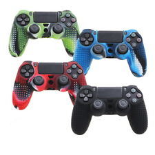 Camouflage Silicone Rubber Skin Grip Cover Case for PlayStation4 PS4Controller_7