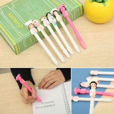 1/6pcs Nurse Style Ballpoint Pen Creative Stationery Kids Students Supplies NEW