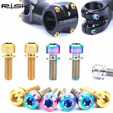 Titanium Ti Bike Cycle Bicycle Headset Stem Pinch Fixing Bolts Screw Hex Allen
