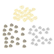 20pcs Bulk Antique Filigree Hollow Out Heart Charms DIY Crafts 22x21mm Beads