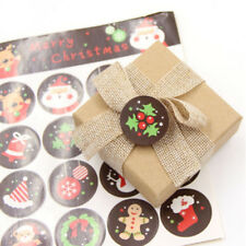 Merry Christmas Series Envelope Seal Sticker Xmas Gifts Label Stickers Decor