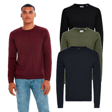 Only & Sons Knitwear Men's Crew Neck Long Sleeve Cable Knitted Pullover Jumper