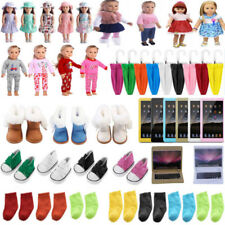 Doll Clothes Pajames Shoes for 18inch American Girl Our Generation My Life Doll