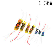 1-36W LED Driver Input AC100-265V Power Supply.Constant Current for DIY LED Lamp