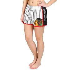 Forever Collectibles NHL Women's Chicago Blackhawks Pinstripe Shorts
