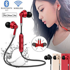 Wireless Bluetooth Sweatproof Headphones Sport Earphones Stereo Headset With Mic