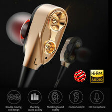 Super Bass Music In Ear Headphone Stereo Headset Earphone Earbuds 3.5mm With Mic