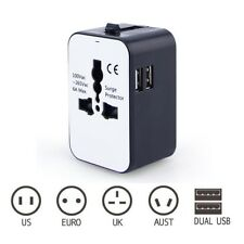 Multi-Outlet Power Plug Travel Universal Travel Converting Power Strip With