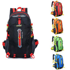 40L Waterproof Outdoor Camping Backpack Hiking Climbing Bag Sport Travel Daypack