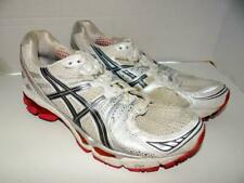 pretty nice ddfd6 af1f4 Asics Gel Kayano 17 White Pink Silver Athletic Running Shoes Womens Size 8.5