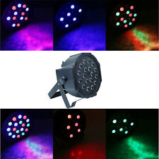 7 Color RGB 24W 18LED Stage Lighting LED PAR Projector Party DJ Disco Light CHY