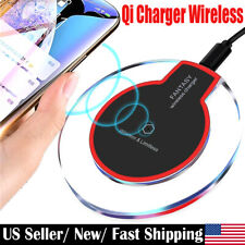 QI Wireless Charger Pad Fast Charging Station for iPhone XS X 8 Samsung S7 S6