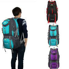 60L Waterproof Travel-Backpack Hiking Backpack Camping Outdoor Sports Daypack