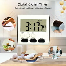 Kitchen Magnetic Digital Kitchen Timer 24 Hours Clock Timer with Loud Sports