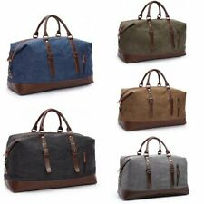 Men's Military Style Backpack Large Capacity Men's Canvas Duffle Travel Backpack