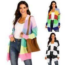 Cardigan Knitted Loose Long Long Sleeve Sweater Jacket Casual Womens Outwear