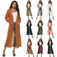 Cardigan Outwear Long Jacket Sweater Knitted Long Sleeve Casual Loose Coat
