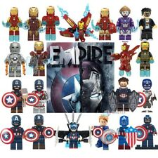 Captain America Iron Man Marvel Avengers Endgame Super Heroes Building Blocks