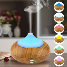 Ultrasonic LED Aroma Humidifier Air Aromatherapy Essential Oil Diffuser 7 Colors