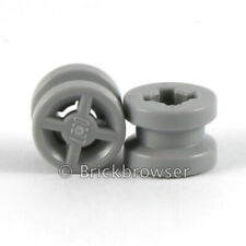 Plate 2x2 Wheels Holder NEUF NEW gris grey 4 x LEGO 4600 Plaque Support Roue