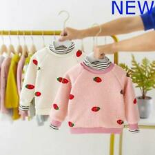 Kids Baby Padded Toddler Sweater Warm Jacket Winter Clothes Coat Girls Outerwear