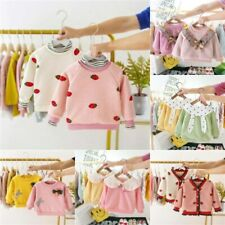 Toddler Clothes Jacket Baby Sweater Winter Warm Girls Hoodie Kids Outerwear Coat