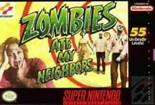 Zombies Ate My Neighbors - Nintendo SNES Game Authentic