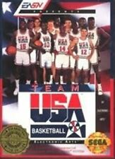 Team USA Basketball - Original Sega Genesis Game