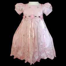 NEW Pink Easter Princess Girl Dress size Baby to Teen