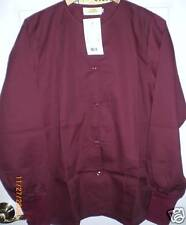 SCRUB WARM-UP JACKET (SOLID COLORS -UNISEX) NWT
