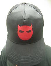 Twisted Smiley Goth Emo Black Baseball / Trucker Cap