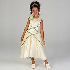 Disney Store Exclusive Deluxe Princess and the Frog Tiana Wedding Gown Costume