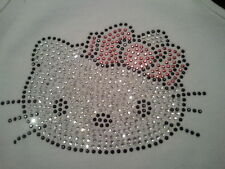 Hello Kitty Rhinestone Bling Top Tank Tee