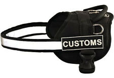 Dog Harness w/ Detachable Patches Customs