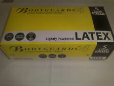 Bodyguard Latex Gloves - LIGHTLY POWDERED - ALL SIZES