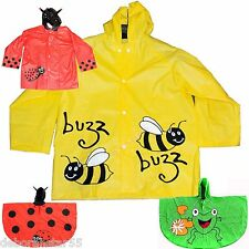 Childrens Raincoat Kids Raincoat Childrens Rain Poncho Cartoon Childrens Mac