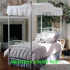 """Twin Size ARCHED Canopy top - EYELET 44""""wide x 89"""" long"""