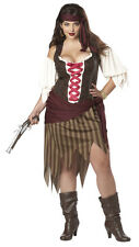 Pirate Buccaneer Beauty Adult Plus Size Women Costume