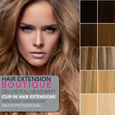 Lush Hair Extensions DIY WEFT Deluxe Double Wefted  Remy Human Hair Extensions