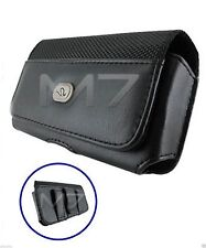 STYLISH PREMIUM LEATHER POUCH CASE FOR MOST HTC PHONES COVER WITH BELT CLIP LOOP