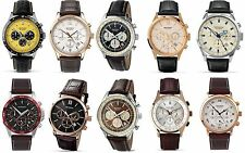 Sekonda Gents Watch - Sports Chronograph - Date - Leather Strap - Dress Watch