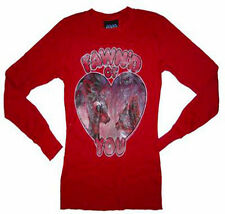 New Junk Food Rudolph The Red Nosed Reindeer Fawn'd of You Thermal Ladies Shirt