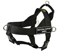 Dog No Pull Harness with Velcro Patches EMOTIONAL SUPPORT ANIMAL