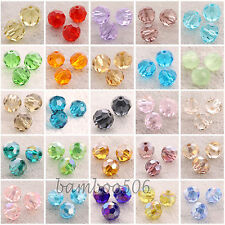 6mm 5000 Round 100pcs Austria Crystal Beads Charms Loose Beads Supplies Lots