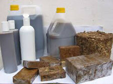 Raw African BLACK SOAP From Ghana LIQUID Pure Natural Ingredients Choose Size