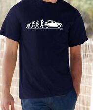 Evolution of Man, Citroen 2cv  t-shirt