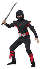 Japanese Military Warrior Stealth Ninja Child Costume
