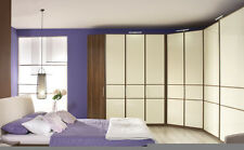 Rauch largo Hinged Door wardrobe - Front With Glass Overlay - H-235cm